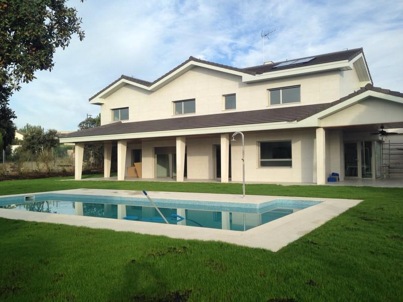 trabajos realizados 3 001 1 - Construcción de vivienda unifamiliar en Villaviciosa de Odón